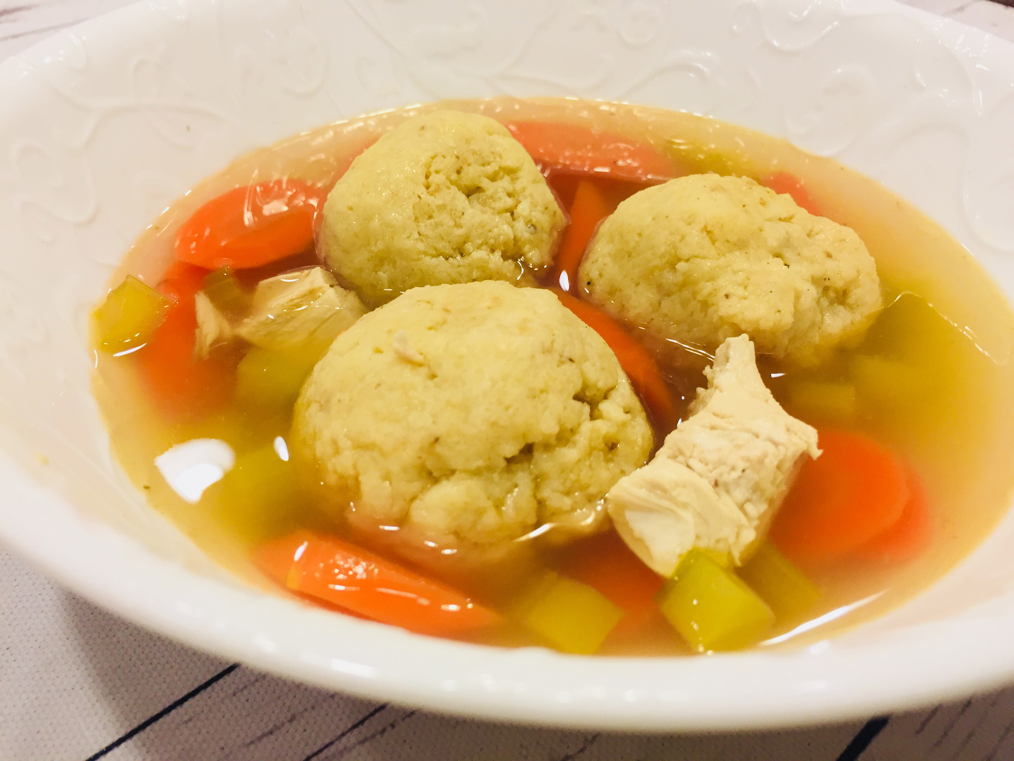 Matzo Ball Soup Indiana Mommy Cooking From The Heart Land